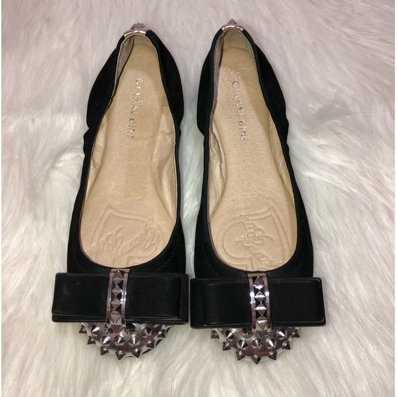 Gianni Bini Shoes - NWOT Gianni Bini Spiked Flats with Bow